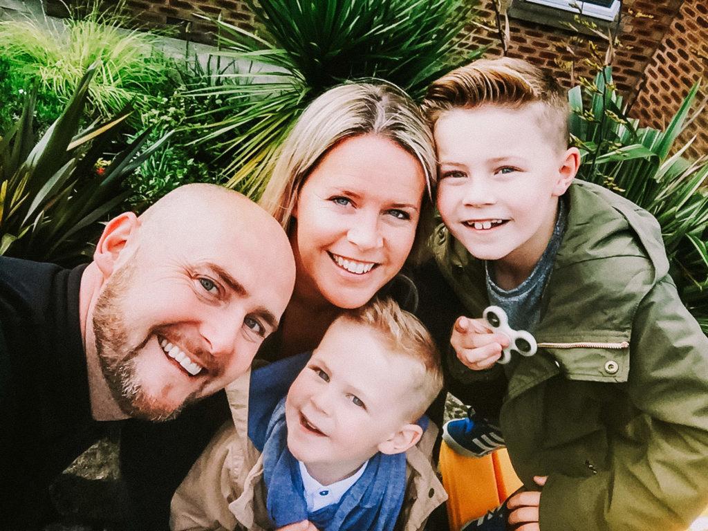 Mellor family photograph